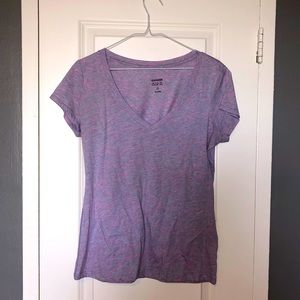 PINK AND PURPLE SHORT-SLEEVED T-SHIRT FROM GARAGE